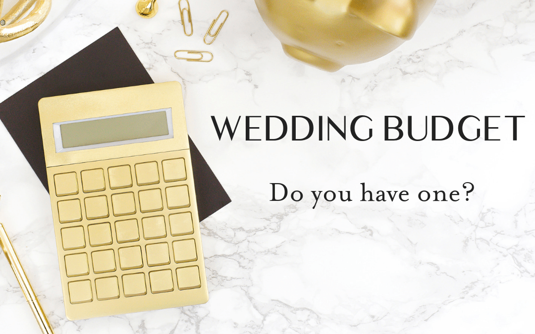 Congratulations on your engagement! Now, let's talk wedding budget!