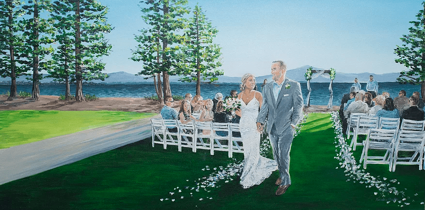 Few of My Favorite Wedding Vendors–Snap Chic Wedding Painting